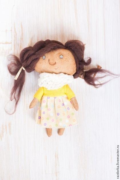 """Ароматизированные куклы ручной работы. Ярмарка Мастеров - ручная работа. Купить Текстильная кукла """"Одуванчик """". Handmade. Авторская кукла"""
