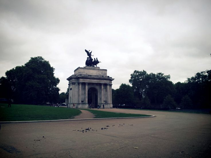The Wellington Arch at Hyde Park Corner, London