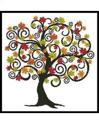 Decorative Autumn Tree