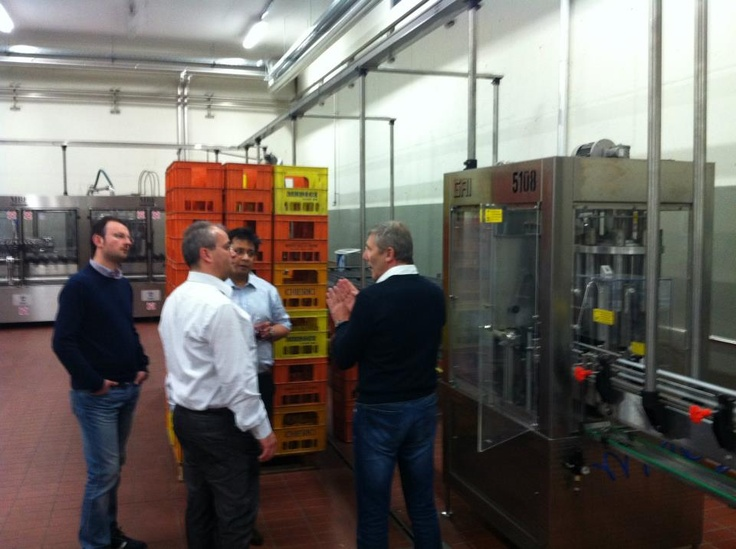 FIBI's delegation visiting companies from Emilia Romagna (Italy)
