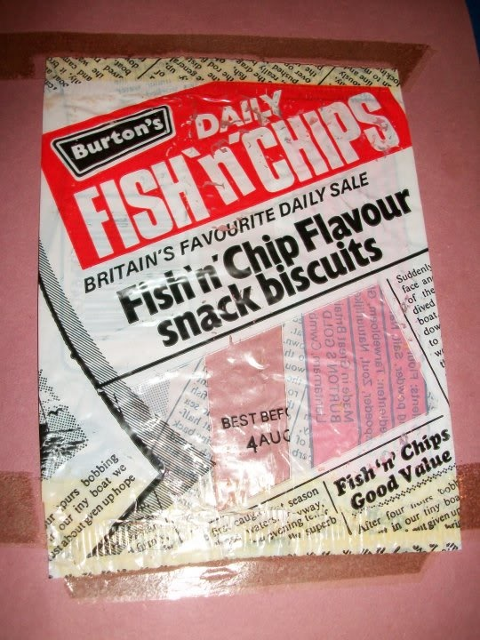 Fish chip crisps