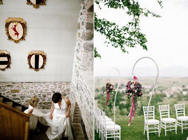 Braut im Castello di Buttrio