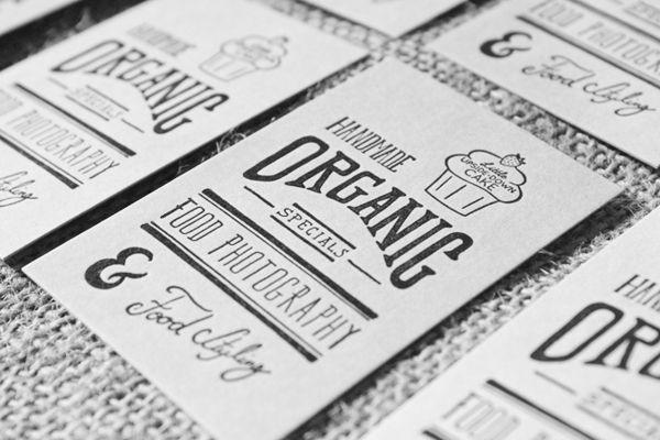 Letterpress Business Cards by Sara Dávila Evangelista