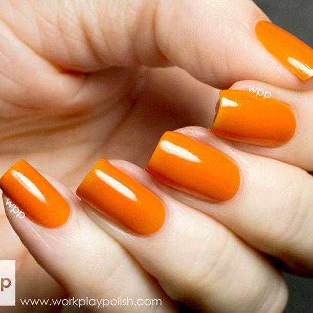 25+ Best Ideas About Orange Nail Art On Pinterest