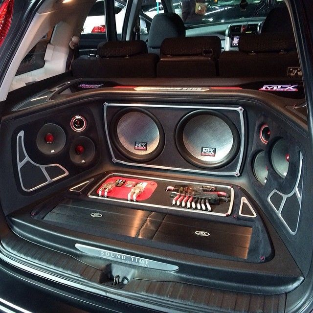 custom car audio install mtx