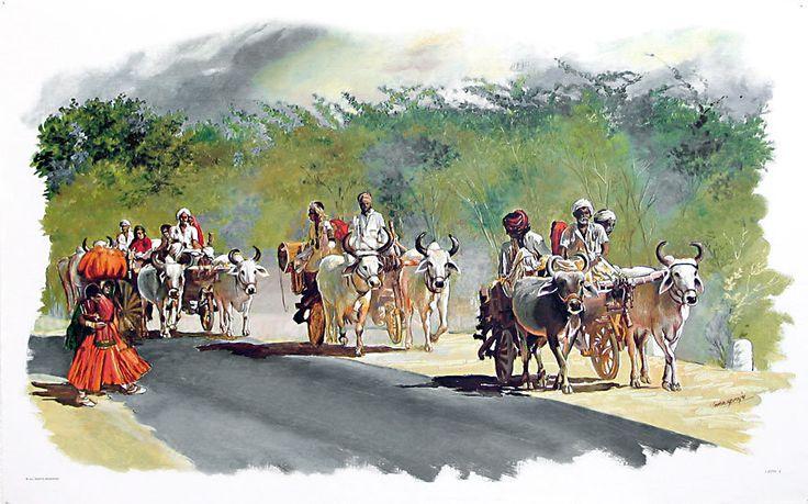 Indian Banjaras (Reprint on Paper - Unframed))