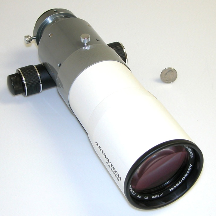 Astro-Tech - AT72ED 72mm f/6 ED doublet refractor, white and gray tube