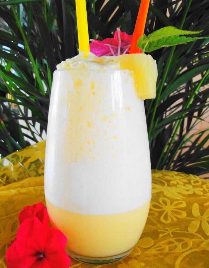 Pine Apple Shake (luxe ananas shake)  Recept: http://www.surinaamseten.nl/showrec.php?IDREC=500
