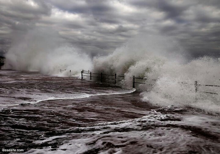 Penzance Promenade; Winter storms are a bit fierce, but, well, it is the Atlantic out there after all.
