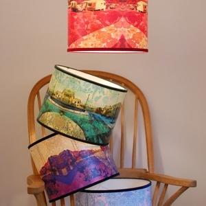 handmade lampshades by Kate Boyce