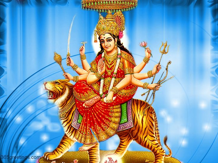 HD Durga Maa Wallpapers - WallpaperSafari