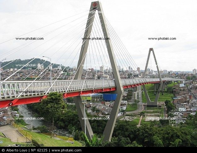 Pictures Bridge Pereira, Colombia  I've been there!!