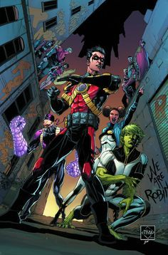 """A """"Robin War"""" tie-in! With Tim Drake missing, the Teen Titans track him back to Gotham City, where the Robin War rages-but Professor Pyg stands between the team and their leader."""