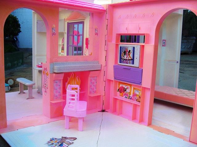 Barbie Folding Pretty House 1996 90s Pinterest