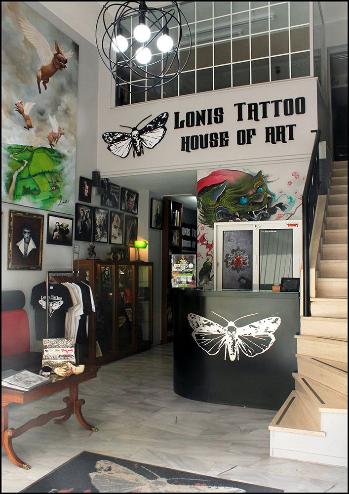 LTS House of Art,Studio tattoo in Athens-Greece 210-9739010 #lonistattoo www.lonistattoo.com