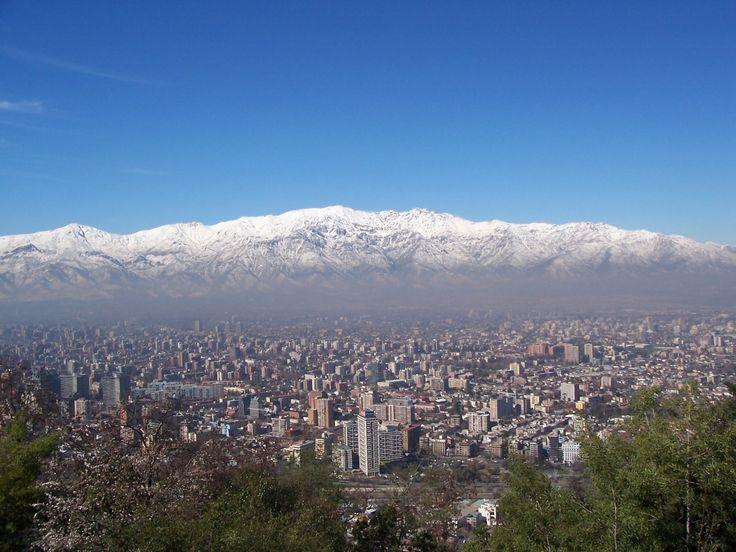 Santiago, Chile  beautiful vistas  beautiful people