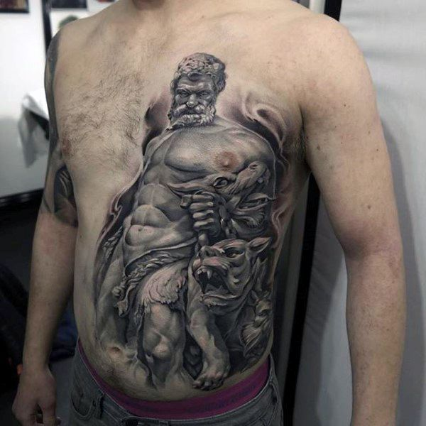 75 Hercules Tattoo Designs For Men