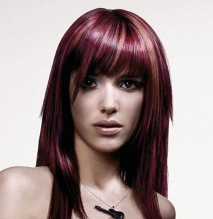Fantastic 1000 Images About Purple Hair On Pinterest Bright Purple Hair Short Hairstyles Gunalazisus