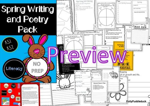 spring writing and poetry pack ks1 ks2 literacy teaching resources writing poetry poetry. Black Bedroom Furniture Sets. Home Design Ideas