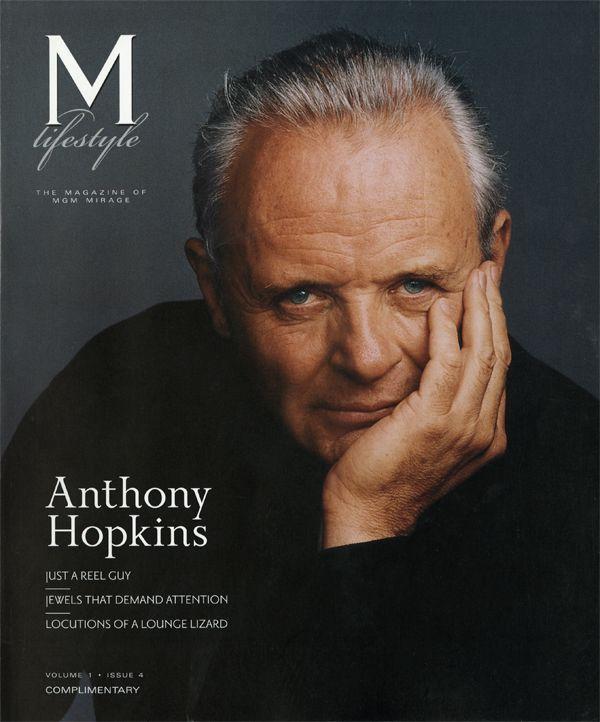 Anthony Hopkins cover photo by Annie Leibovitz.... www.fashion.net