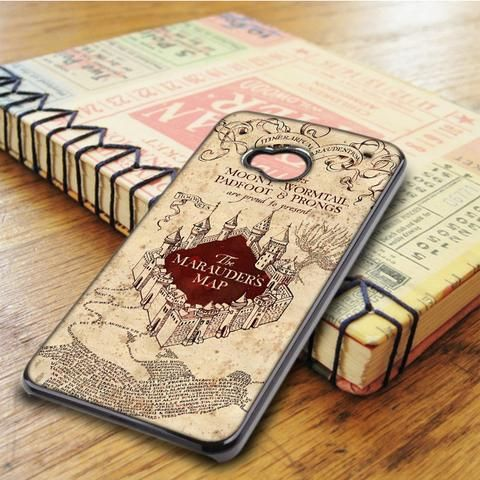 Harry Potter Marauders Map HTC One M7 Case