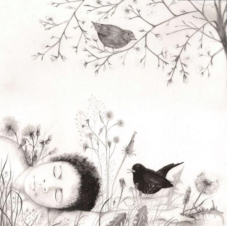 aprile dolce dormire, gli uccelli a cantare e gli alberi a fiorire