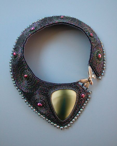 Elemeno P: July 2012 ;  LOVE THIS IDEA AND SHAPE FOR A COLLAR NECKLACE