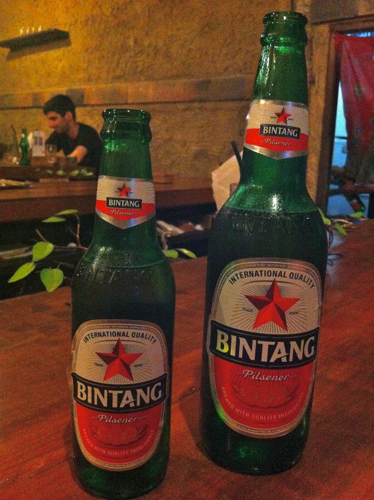 Bintang beer from Indonesia