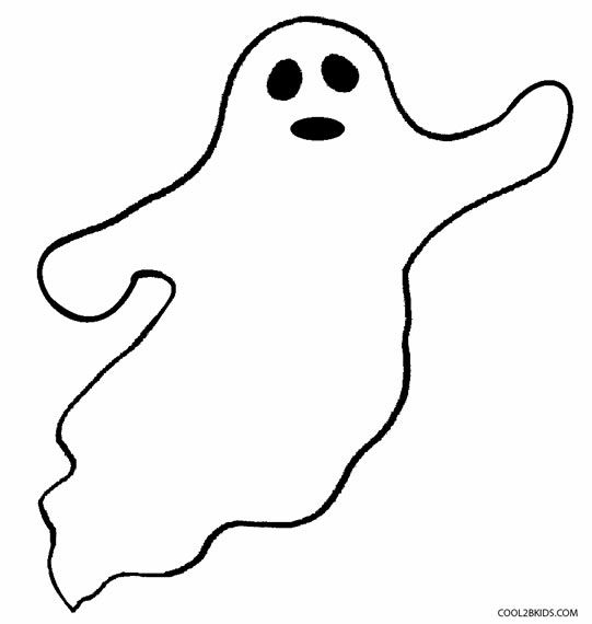 Printable Ghost Coloring Pages For Kids | Cool2bKids ...