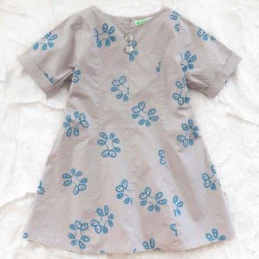 wovenplay louise dress - azure