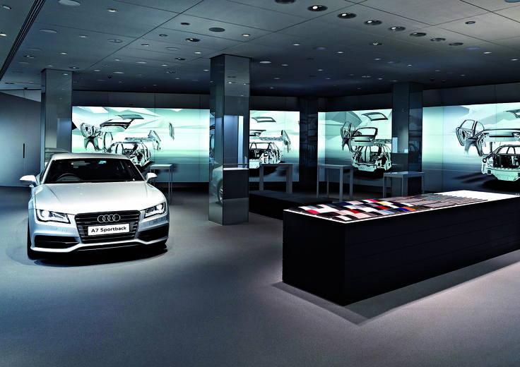 Audi City - the interactive car showroom for urban shoppers
