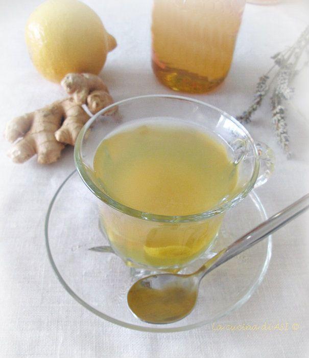 LA TISANA limone miele zenzero La cucina di ASI © 2015