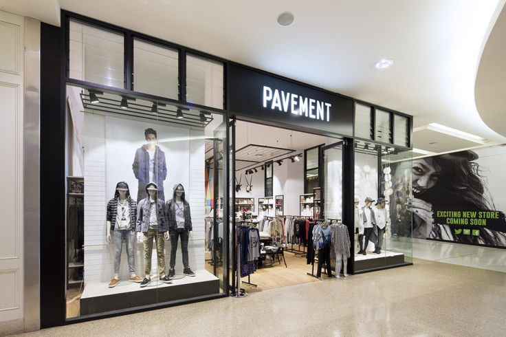 Interior photography of Pavement store, Westfield, Bondi Junction for Edge Concepts. Photography by Burrough Photography.