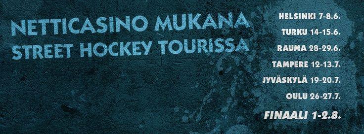 Street Hockey Tour on käynnistymässä ja Netticasino on mukana kiertueella !  #Streethockey #streethockeytour