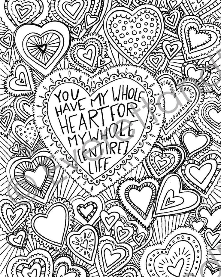238 best Hearts \ Love Coloring Pages images on Pinterest Coloring - copy make your own coloring pages online