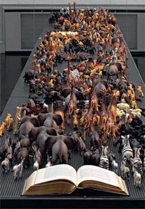©Maaria Wirkkala, Found a mental connection, 1998, installation.