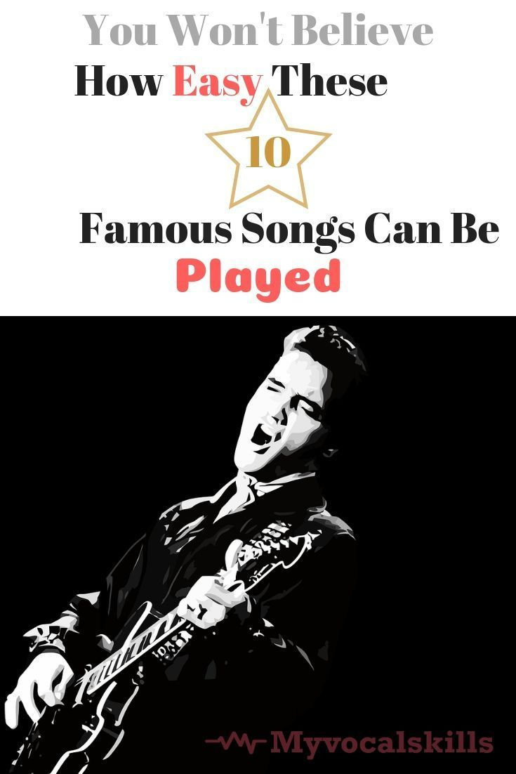 10 Popular Songs That Are Easy To Sing And Play On The Guitar Songs Guitar Singing Music Songs Guitar Songs Songs To Sing
