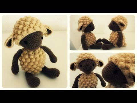 Häkelschaf Teil 1/2 * Tutorial * Crochet Sheep [eng sub] - YouTube