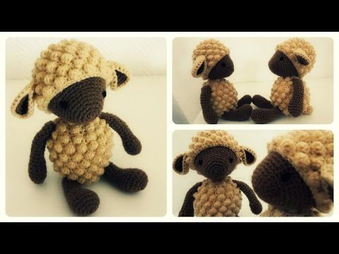 Häkelschaf Teil 1/2 * Tutorial * Crochet Sheep [eng sub] - YouTube