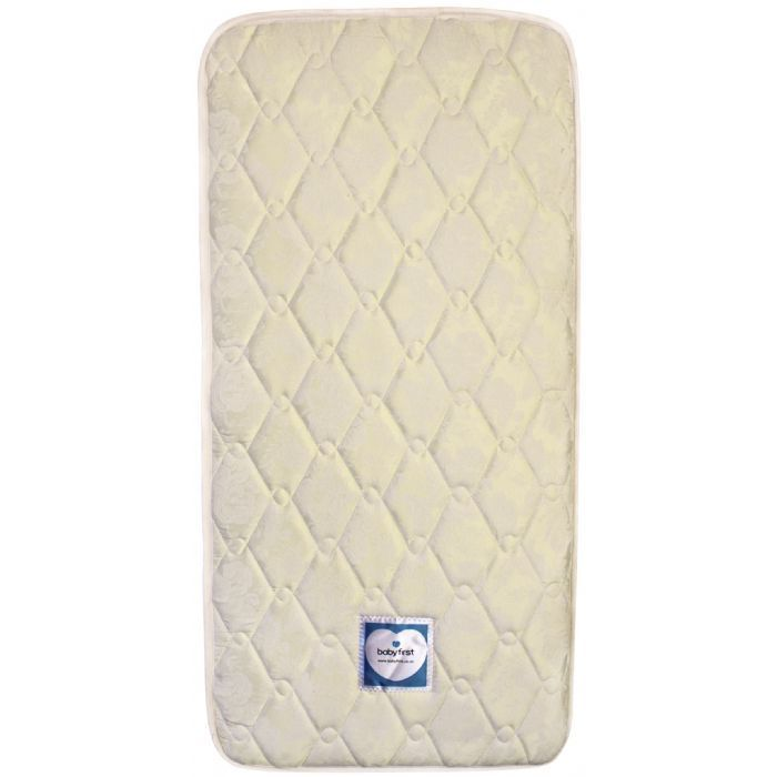 Baby First Innerspring Cot Mattress With Removable Cover Standard Size