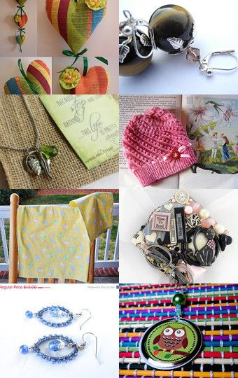 #Spring is in the #Air  <3 by Ashley Means http://etsy.me/1F4DxDj on #Etsy #jewelry #crafts #decor #art #treasury #treasurybox