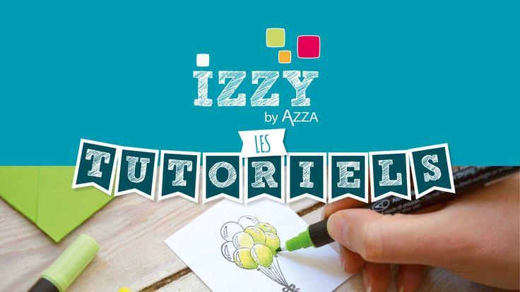 Les tutos d'Izzy By Azza: Isabelle vous propose une vidéo afin de comprendre la différence entre l'encre Izink mélangée avec de l'eau et l'encre Izink mélang...