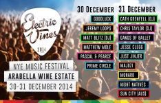 Win tickets to the Electric Vines Music Festival at Arabella Wine Estate worth R1400 | Ends 30 November 2014