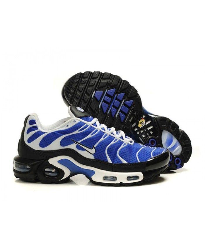competitive price 848e6 0c438 Homme Nike Air Max TN Royal Bleu Blanche Noir Chaussures