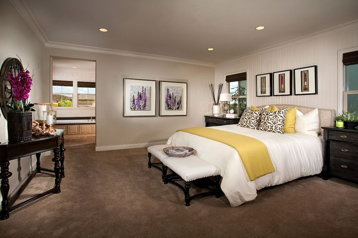 Garden Hill At Portola Springs Residence 2 Master Bedroom A Kb Home Community In Irvine Ca