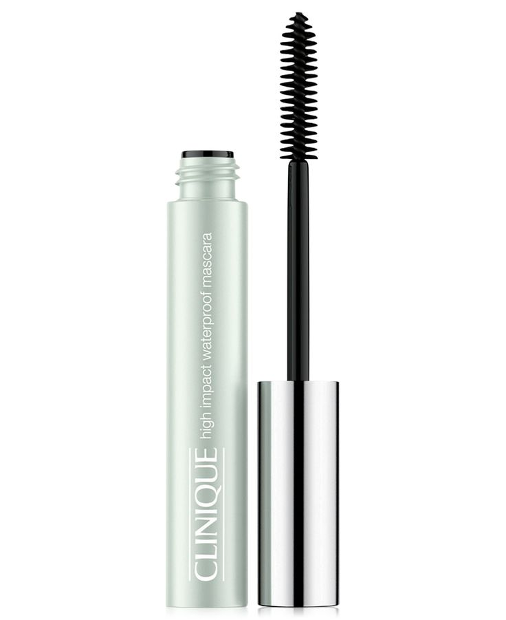 Instant volume and length that resists flaking, clumping, smudging. Our waterproof version of High Impact Mascara can stand up to heat, humidity, an active day. Safe for sensitive eyes and contact len