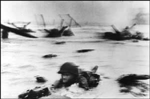 Robert Capa- one of the best photographers of his time, brilliant photographs and a brave man!