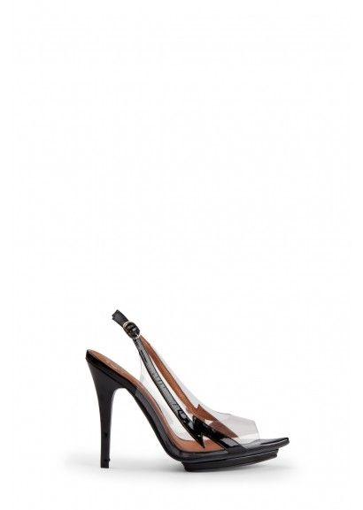 Lightning Bolt Black Patent Dressy Heels $65 at zomp.com (Jeffery Campbell Electra - Black)