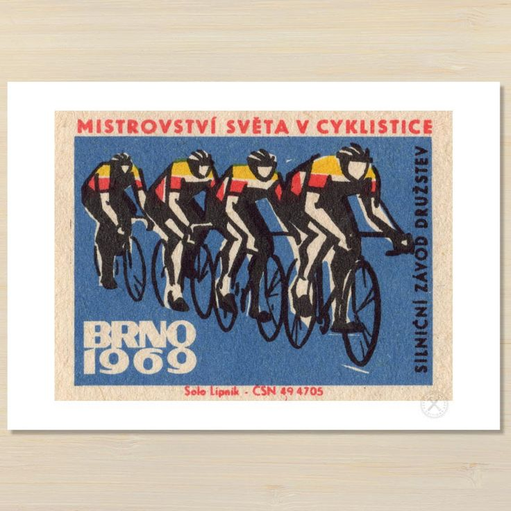 Four Cyclists art print | Pencil and Hammer NZ – Pencil and Hammer art prints
