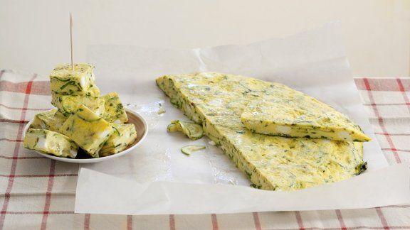 Frittata mit Zucchini |